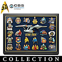 STAR TREK Pin Collection