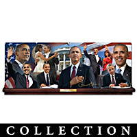 America\'s 44th President Collector Plate Collection