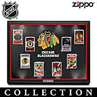 Chicago Blackhawks® Zippo® Lighter Collection