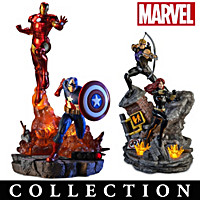 Avengers Assemble Sculpture Collection