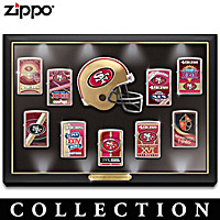 Legendary San Francisco 49ers Zippo® Lighter Collection