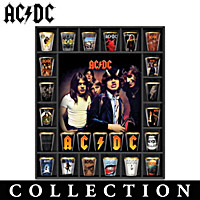 AC\/DC Album Covers Shot Glass Collection