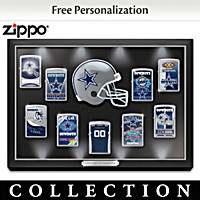Dallas Cowboys Personalized Zippo® Lighter Collection