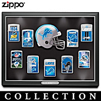 Legendary Detroit Lions Zippo® Lighter Collection