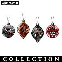Sons Of Anarchy Ornament Collection