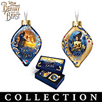 Disney Beauty And The Beast Ornament Collection