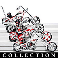 Boston Red Sox Motorcycle Figurine Collection