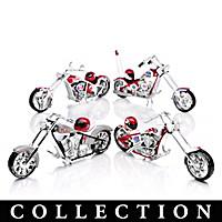Philadelphia Phillies Motorcycle Figurine Collection