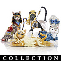 Divine Feline Figurine Collection
