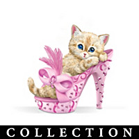 Purr-fectly Heel-ing Figurine Collection