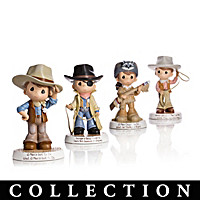 Precious Moments Tribute To John Wayne Figurine Collection