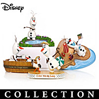 Disney FROZEN Chillin\' Out With Olaf Figurine Collection
