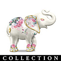 An Elephant\'s Garden Figurine Collection
