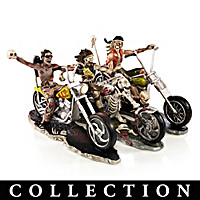 The Riding Dead Biker Figurine Collection
