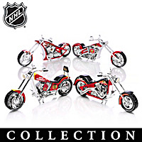 Chicago Blackhawks® Motorcycle Figurine Collection