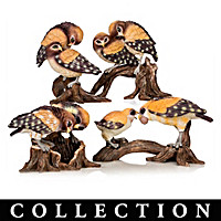 Laura Crawford Williams Owl Figurine Collection