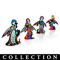 Magical Beauties Of The Sugar Skull Figurine Collection
