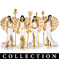 Empowering Faith Angels By Keith Mallett Figurine Collection