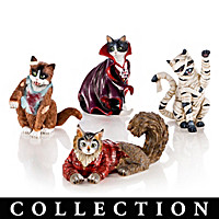 Blake Jensen\'s All Meow-llows Eve Figurine Collection