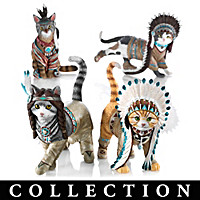 Feathers \'N Fur Kittens Figurine Collection