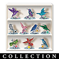 Reflections Of The Hummingbird Figurine Collection