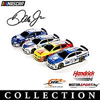 Dale Earnhardt Jr. Driven To Win Car Sculpture Collection