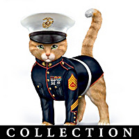 Paws & Salute The U.S.M.C. Figurine Collection