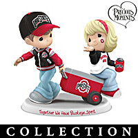 Precious Moments Buckeye Pride Figurine Collection