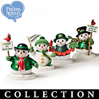 Irish You Many Blessings Figurine Collection