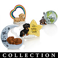 Our Love Is Out Of This World Dachshund Figurine Collection