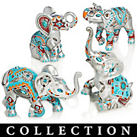 Jewels Of The Sedona Elephant Figurine Collection
