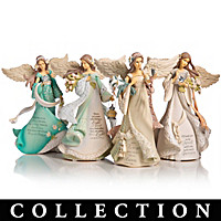 Karen Hahn On Wings Of Love Figurine Collection