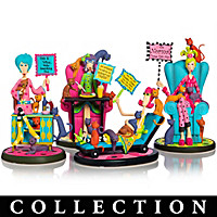 Dolly Mama's Totally Cat-a-holic Figurine Collection