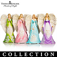 Thomas Kinkade's Amazing Grace Angels Figurine Collection