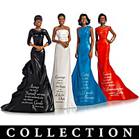 Michelle Obama's Words Of Wisdom Figurine Collection