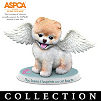 Boo: Paw Prints From Heaven Figurine Collection