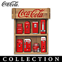 Refreshing COKE Mini Machines Sculpture Collection