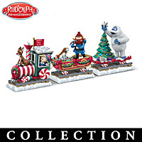 All Aboard The Rudolph Express Figurine Collection
