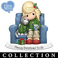 Holiday Tails Festive Furr-Ever Friends Figurine Collection