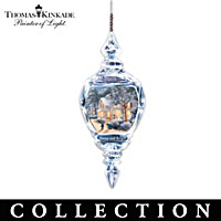 Thomas Kinkade Annual Crystal Ornament Collection