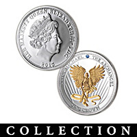 Strength of Our Faith Archangel Silver Crown Coin Collection