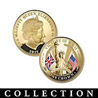 The 70th Anniversary Of WWII Victory Crown Coin Collection