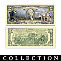 U.S. $2 Monuments Bills Collection