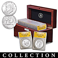 The Complete 20th Century U.S. Silver Dollar Coin Collection