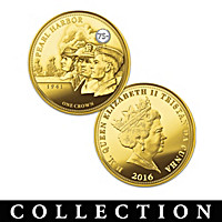 75th Anniversary Of United States In WWII Coin Collection