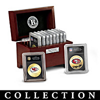 The Complete NFL Golden Dollar Coin Collection