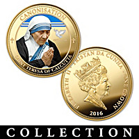 The Mother Teresa Legacy Coin Collection