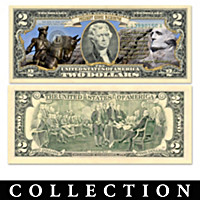 All-New U.S. $2 Presidential Bill Currency Collection