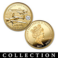 The 75th Anniversary Of World War II Golden Coin Collection