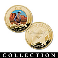 The John Wayne Golden Proof Coin Collection